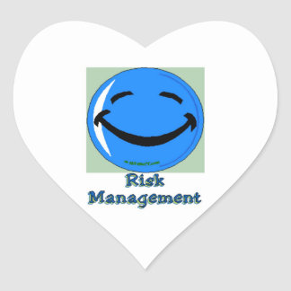 HF Risk Management Heart Stickers