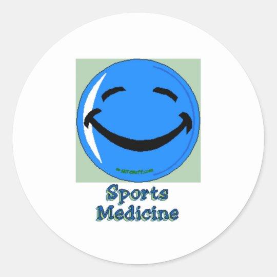HF Sports Medicine Classic Round Sticker
