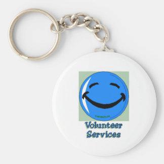 HF Volunteer Services Key Chain