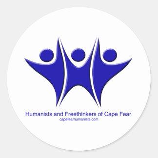 HFCF Logo Round Sticker
