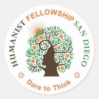 HFSD Round Logo Classic Round Sticker