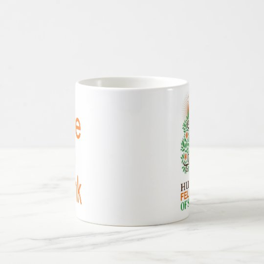 HFSD Std Logo w/ DtT text block Coffee Mug