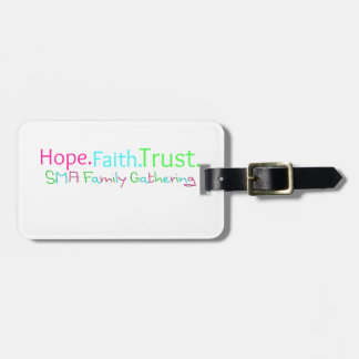 HFT Gathering - Words Luggage Tags