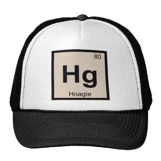 Hg - Hoagie Chemistry Periodic Table Symbol Trucker Hats