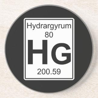 Hg - Hydrargyrum Drink Coaster