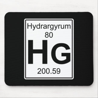 Hg - Hydrargyrum Mouse Pad