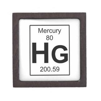 Hg - Mercury Jewelry Box
