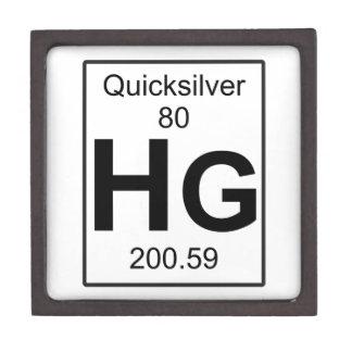Hg - Quicksilver Jewelry Box