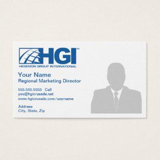 HGI Regional Marketing Director (Photo) Business Card