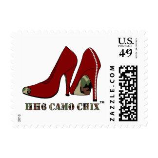 HH6 Camo Chix™ Stamp 0 49 1st Class 1oz Postage