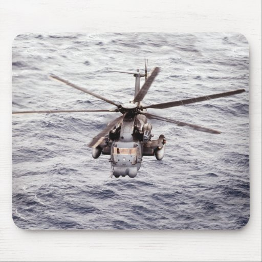 HH-53 Super Jolly Green Giant Mouse Pad