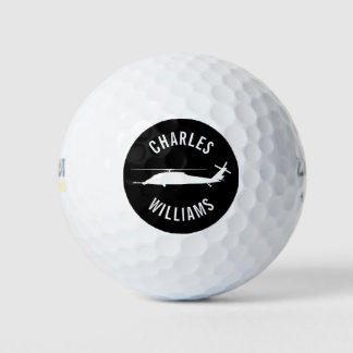 HH-60 Pave Hawk Golf Ball with Custom Name