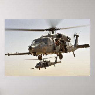 HH-60 pavimentan el halcón Póster
