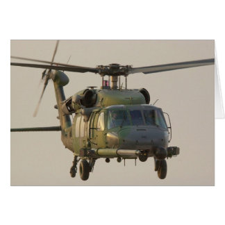 HH-60G Pave Hawk Helicopter Greeting Card