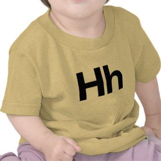 Hh Helvética Camiseta