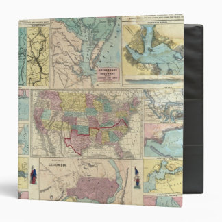 HH Lloyd Campaign Military Charts 3 Ring Binder