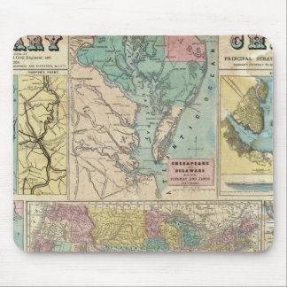 HH Lloyd Campaign Military Charts Mouse Pad