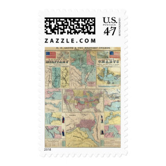 HH Lloyd Campaign Military Charts Postage