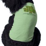 HHBR - 2012 St. Patrick's Day Waddle doggie tank Pet T-shirt