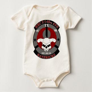 HHC 2-149th Aviation Regiment - Mavericks - OIF 08 Baby Bodysuit