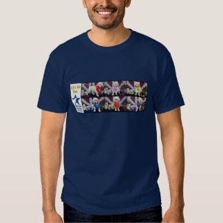 HHD Cowboys, logo on back Shirt