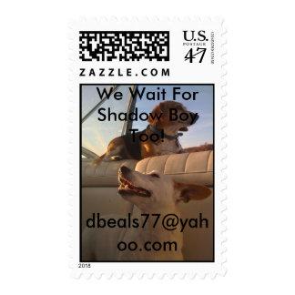 Hhh0183[1], Hanna And AbbyAwait Shadow Boydbea... Postage Stamp