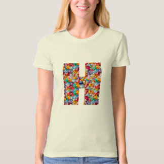 HHH for HAPPY .. let us make it with JEWELS PEARLS T-Shirt