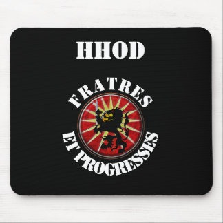 HHOD mousepad with motto