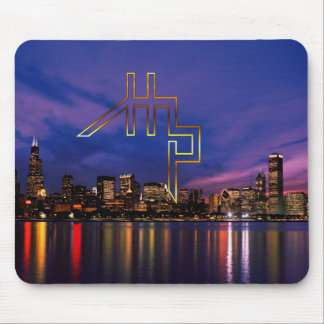 HHP-HYPE HOUSE/CHICAGO SKYLINE1Mousepad Mouse Pad