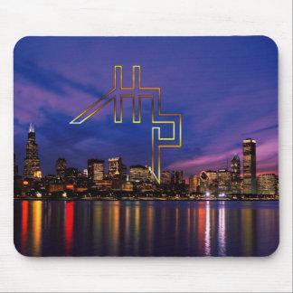 HHP-HYPE HOUSE/CHICAGO SKYLINE1Mousepad Mouse Pad