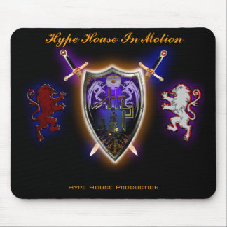 HHP-limited edition HYPE HOUSE SHIELD  Mousepad
