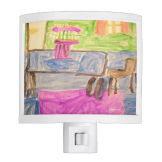 HI54ART Watercolor Printemps Nite Lites