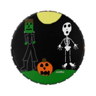 HI54AUTM Halloween Haunters Frascos De Dulces