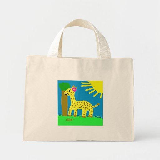 HI54ECO™ Giselle Giraffe Girl Bags