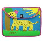 HI54ECO™ Giselle Giraffe Girl Sleeve For MacBook Pro