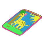 HI54ECO Safari Friends Giselle Giraffe Girl MacBook Air Sleeves
