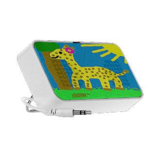 HI54ECO Safari Friends Giselle Giraffe Girl Mini Speaker