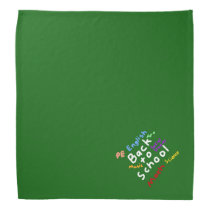 HI54EDU Back To School Bandana