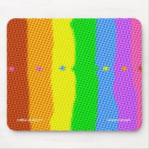 "HI54GEO™ ""Doric Plaid"" Mouse Pad"