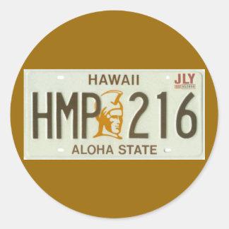 HI91 CLASSIC ROUND STICKER