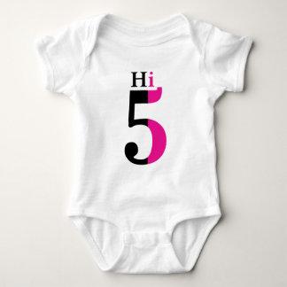 Hi 5! baby bodysuit