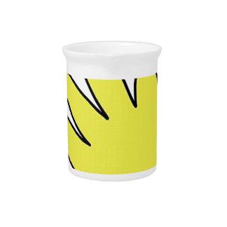 hi 5 draw hand glove drink pitcher