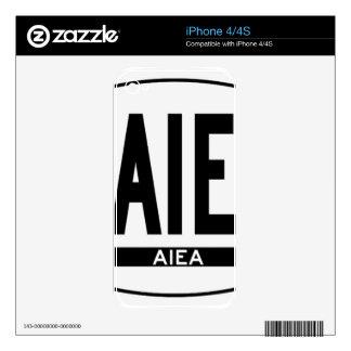 Hi-Aiea-Sticker Skins For The iPhone 4