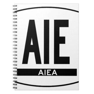 Hi-Aiea-Sticker Spiral Notebook