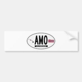 Hi-ALA-MOANA-Sticker Bumper Sticker