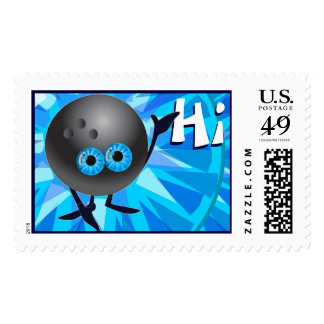 Hi bowling friends postage