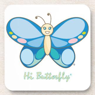 Hi Butterfly® Coaster Set
