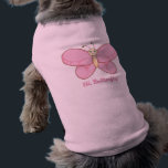 """Hi Butterfly&#174; Dog Tank Top<br><div class=""""desc"""">Float like a Butterfly with the Hi Butterfly&#174; Dog Tank Top. For more information on Hi Butterfly&#174; check us out at CUTEandHAPPY.com</div>"""