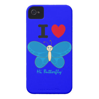 Hi Butterfly® iPhone 4/4S Case-Mate Barely There™