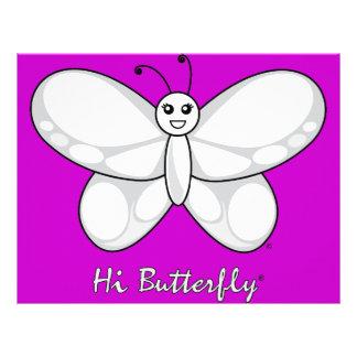 Hi Butterfly® Letterhead